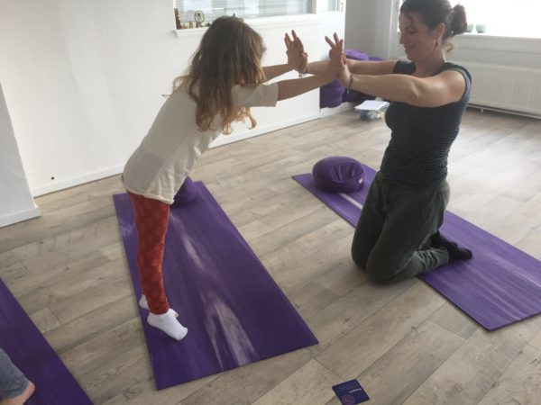 kinderyoga met the flower of life Amsterdam