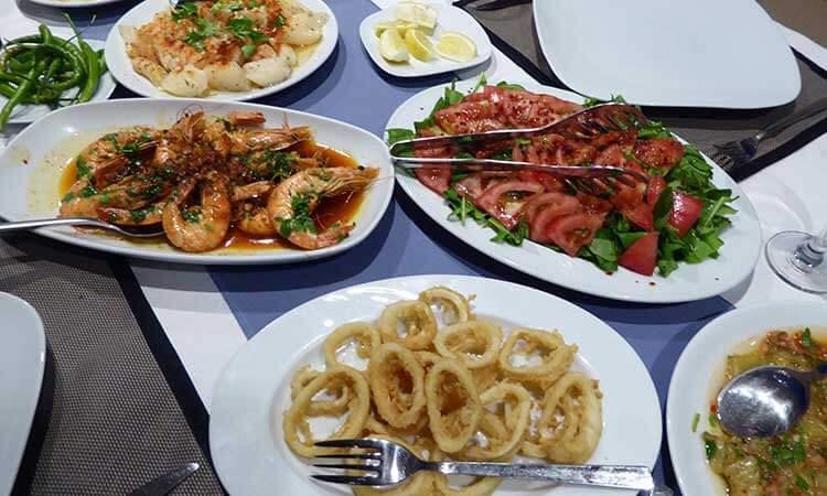 Eten aan boord