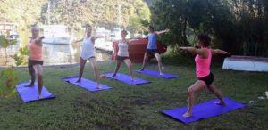 Yoga op unieke plekken