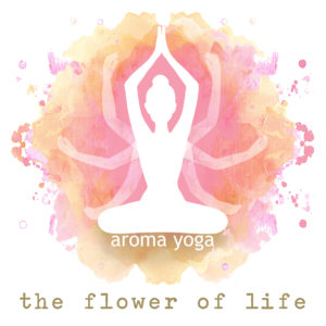aroma yoga met the flower of life