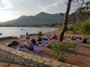yin yoga met the flower of life yogareizen