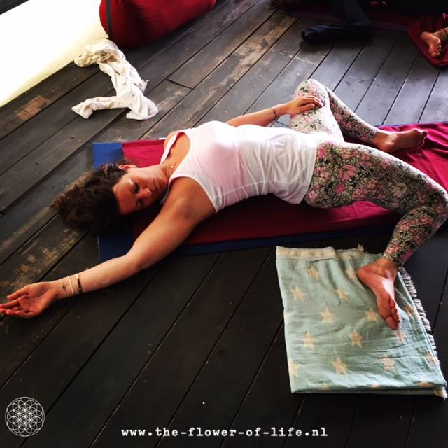 yin yoga medicine in Italie - the flower of life
