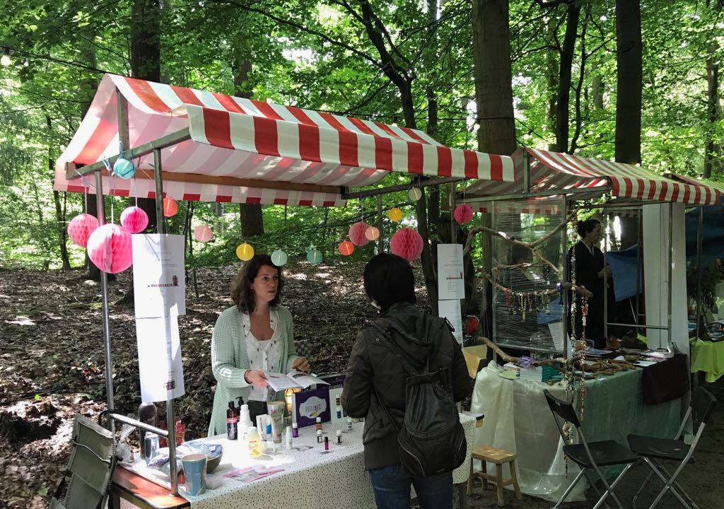 the flower of life op het Zen Festival