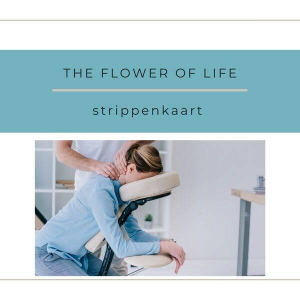 strippenkaart stoelmassage the flower of life