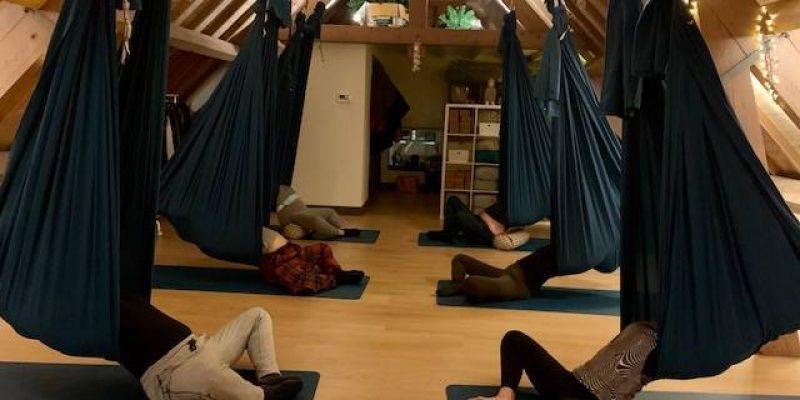 Aerial Restorative Yoga Amsterdam