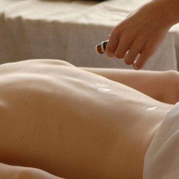raindrop technique massage met young living olien