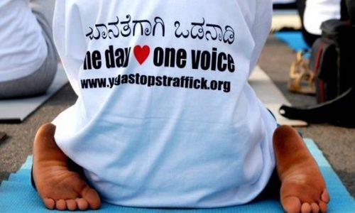 yoga stops traffick - flower of life